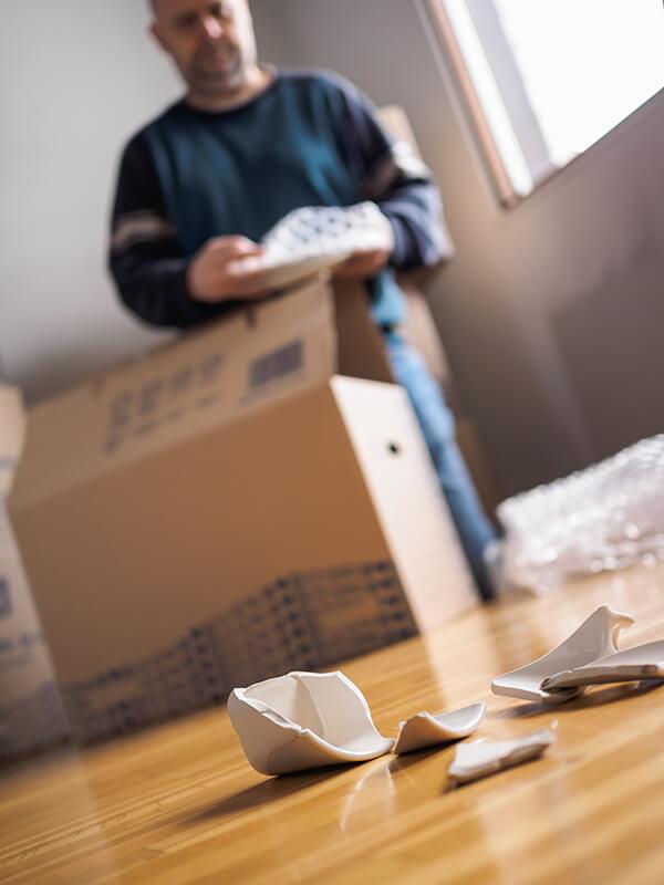 Image of broken item in household